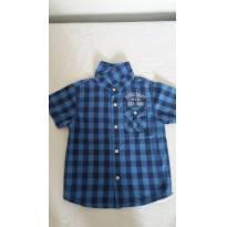 Camisa Manga Curta Baby Boy - 18 a 24 meses - cea e outro