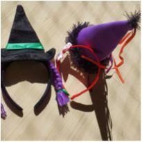 Fantasia Chapéus Bruxinha E Tiara Infantil -  - Sem marca