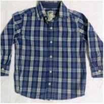 Camisa xadrez OshKosh B`gosh - 4 anos - Oshkosh B´gosh e Ampelman