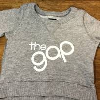 Blusa de moletom GAP Baby - 0 a 3 meses - GAP