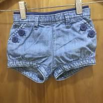 Short jeans baby GAP - 6 a 9 meses - Baby Gap