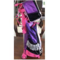 Mochila e lancheira barbie rock and royals -  - Sestini