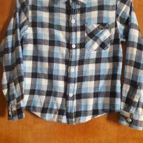 Camisa xadrez manga longa - 8 anos - Trick