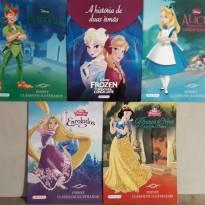 13 livros de histórias: Frozen, Branca de neve, A bela e a fera, Pequena sereia -  - Editora Girassol