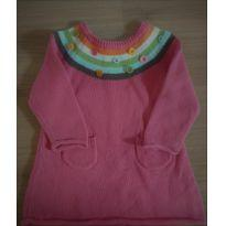 Vestido de linho - 9 a 12 meses - Gymboree