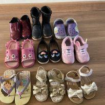 Combo sapato/ bota/ tênis, etc - 22 - Melissa e Crocs