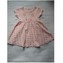 Vestido gatinha - 0 a 3 meses - Boulevard Baby