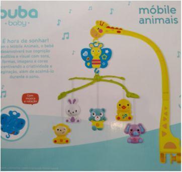 Móbili animais Buba - Sem faixa etaria - Buba Baby