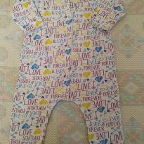 Pijama peluciado - 3 a 6 meses - Moda Love