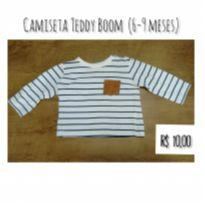 Camiseta listras - 6 a 9 meses - Teddy Boom