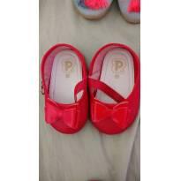 Sapatinho vermelho Pimpolho - 16 - Pimpolho