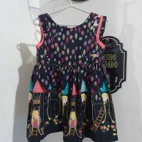 Vestido Alphabeto - 2 anos - Alphabeto