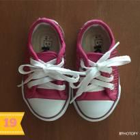 Tênis pink de lantejoulas (cód.0253) - 19 - Bk