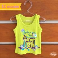 Camiseta regata BabiesRUs (cód.0367) - 1 ano - Babies R Us