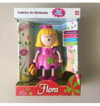 Flora Fadinha de Atividades NOVA!!! - Sem faixa etaria - Elka