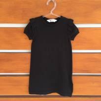 Vestido de linha preto H&M (cód.0652) - 4 anos - H&M