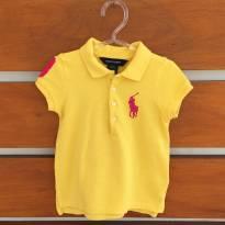 Camisa polo amarela Polo Ralph Lauren (cód. 0288) - 3 anos - Ralph Lauren