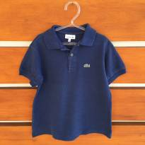 Camisa pólo azul marinho Lacoste (cód.0610) - 8 anos - Lacoste