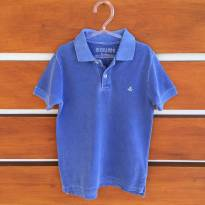 Camisa pólo azul Richards Kids (cód.0609) - 6 anos - Richards Kids