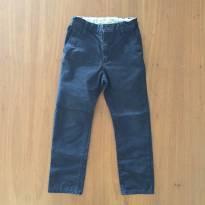 Calça azul marinho H&M (cód.0485) - 6 anos - H&M
