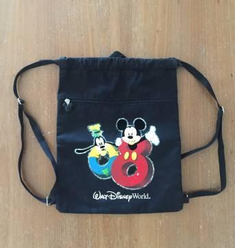 Mochila saco preta Disney (cód.0629) - Sem faixa etaria - Disney