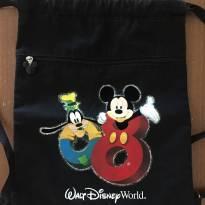 Mochila saco preta Disney (cód.0629) -  - Disney