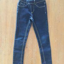 Calça jeans com brilho jegging (cód.0676) - 6 anos - Não informada