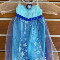 Fantasia Elsa Frozen - 4 anos - Disney