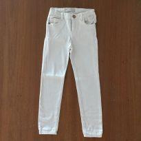Calça off-white Zara Girls (cód.0710) - 6 anos - Zara