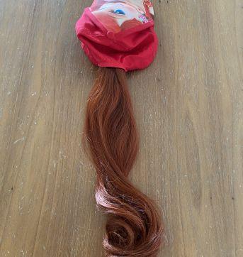 Boné da Ariel com rabo de cavalo (cód.0757) - Sem faixa etaria - Disney