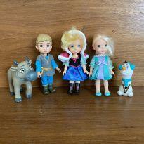 Mini Personagens do Filme Frozen da Disney (cód.0790) -  - Disney