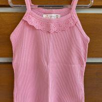 Blusa ribana rosa Fábula (cód.0804) - 6 anos - Fábula