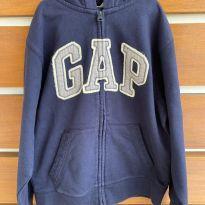 Casaco de moletom azul marinho Gap (cód.0828) - 10 anos - Gap Kids e GAP