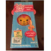 Kit 8 comidinhas Baby Alive + Tigela + colher. Original Hasbro -  - Baby Alive