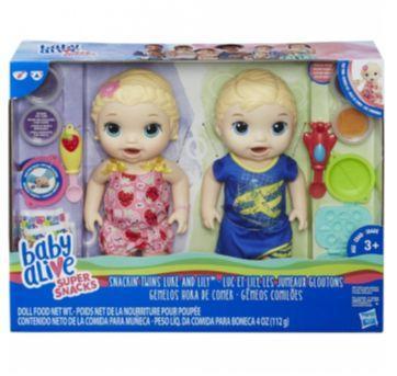 Baby Alive Gêmeos Comilões - Sem faixa etaria - Hasbro