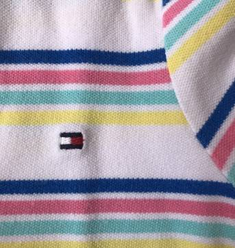 POLO TOMMY HILFIGER LISTRAS - 2 anos - Tommy Hilfiger