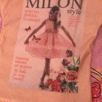 BLUSA MILON LANTEJOULAS - 3 anos - Milon