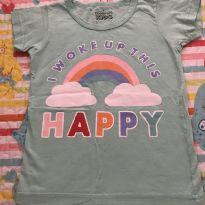 BLUSINHA ARCO ÍRIS HAPPY - 4 anos - Boulevard Kids
