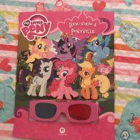 LIVRO 3 D LITTLE PONEY -  - My Little Pony