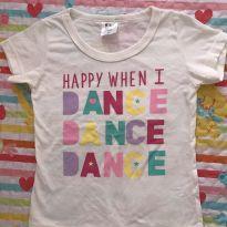 BLUSINHA DANCE - 4 anos - Nacional