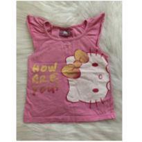 BLUSA HELLO KITTY MENINA 3/4 ANOS - 4 anos - Sanrio