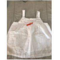 Bata branca Réveillon - 24 a 36 meses - sem etiqueta