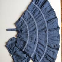 Conjunto vestido e calcinha - 12 a 18 meses - Benetton Baby