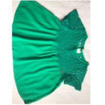 Batinha verde com renda - 5 anos - Colcci kids