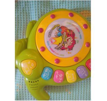 Brinquedo interativo - DJ Canguru importado - Sem faixa etaria - Várias