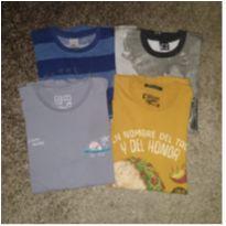 Camisetas Colcci e PUC - 12 anos - Colcci Fun e PUC