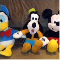 Mickey, Donald e Pateta de pelúcia com som -  - Multikids Baby