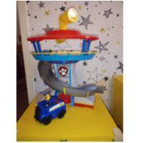 Patrulha Canina Torre Farol Chase + Veiculo Paw Patrol