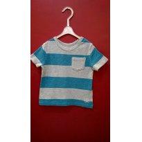 104- Camiseta Gap Listrada - 2 anos - Baby Gap