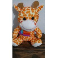 Pelúcia girafinha - Sem faixa etaria - Não informada